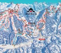 Wagrain Ski map
